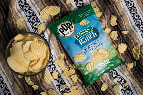 Hidden Valley® Ranch Seasoned Wavy Chips (7.5oz Bag)