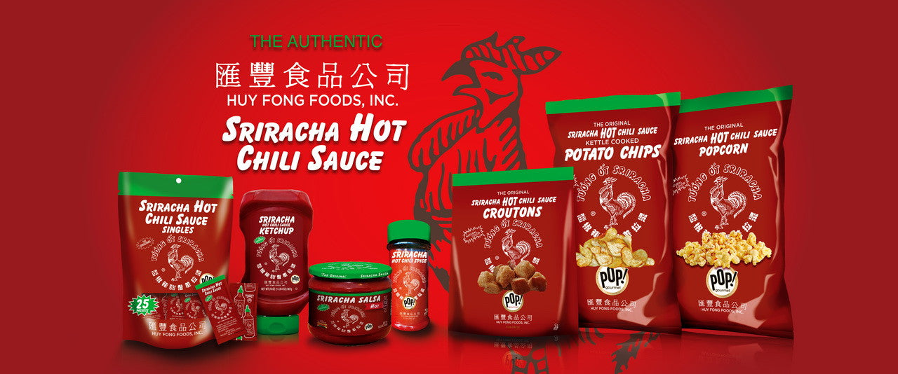 Authentic Sriracha products