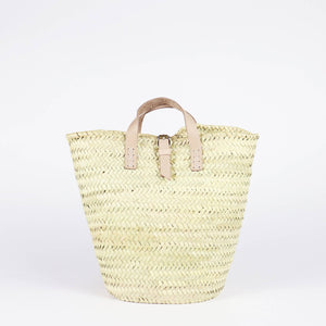 Mumbai Straw bucket backpack