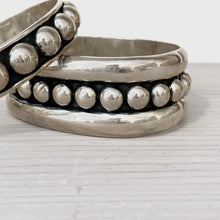 Load image into Gallery viewer, Silver Dot Bracelets