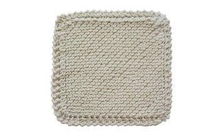 Organic Cotton Scrubber