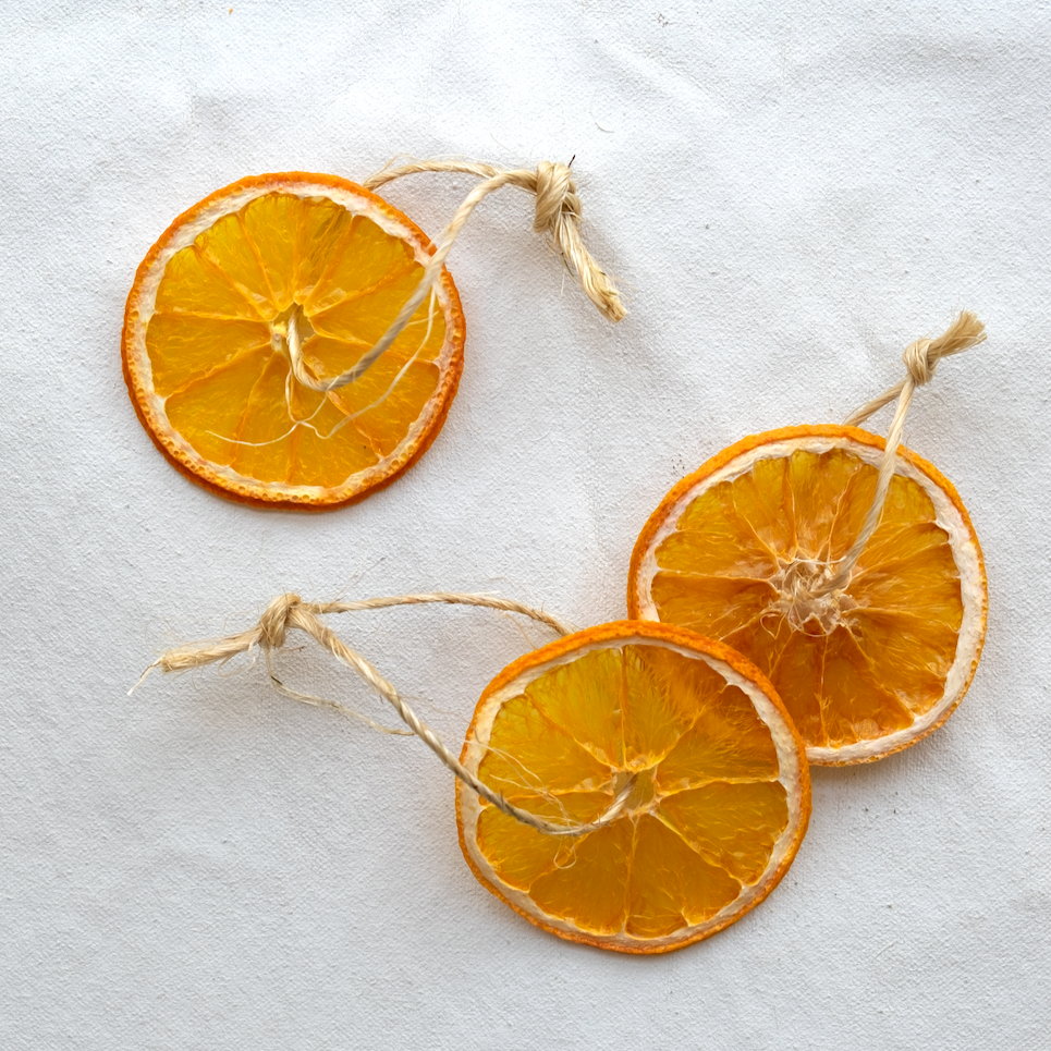 Orange Slice Ornament