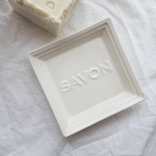 Load image into Gallery viewer, Savon Ceramic Soap Dish