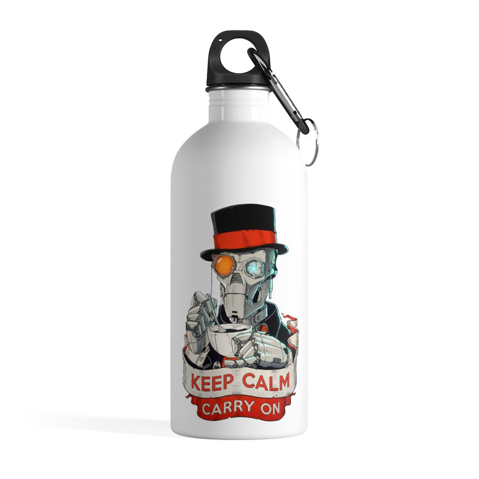 Keep Calm - Stainless Steel Water Bottle - VoodooFoxStore