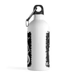 Robotzzz - Stainless Steel Water Bottle - VoodooFoxStore