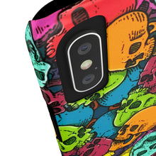 Load image into Gallery viewer, Skullericious - phone case - VoodooFoxStore