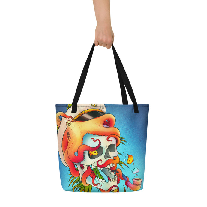 Sea Monster - Beach Bag - VoodooFoxStore