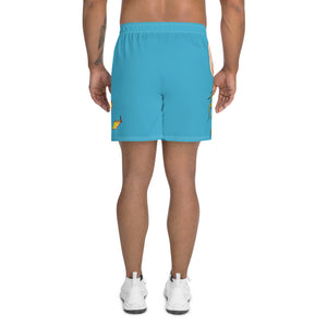 Sea Monster - Men's Athletic Long Shorts - VoodooFoxStore