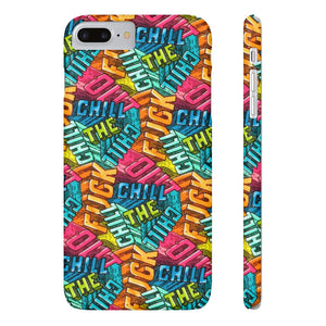 chill - phone case - VoodooFoxStore