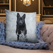Load image into Gallery viewer, Brick Beauty in frost - Premium Pillow - VoodooFoxStore