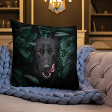 Load image into Gallery viewer, Brick Obey - Premium Pillow - VoodooFoxStore