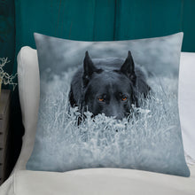 Load image into Gallery viewer, Brick White Grass - Premium Pillow - VoodooFoxStore