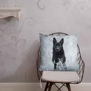 Brick Beauty in frost - Premium Pillow - VoodooFoxStore