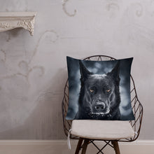 Load image into Gallery viewer, Brick Portrait - Premium pillow - VoodooFoxStore