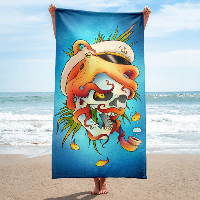 Sea Monster - Towel - VoodooFoxStore