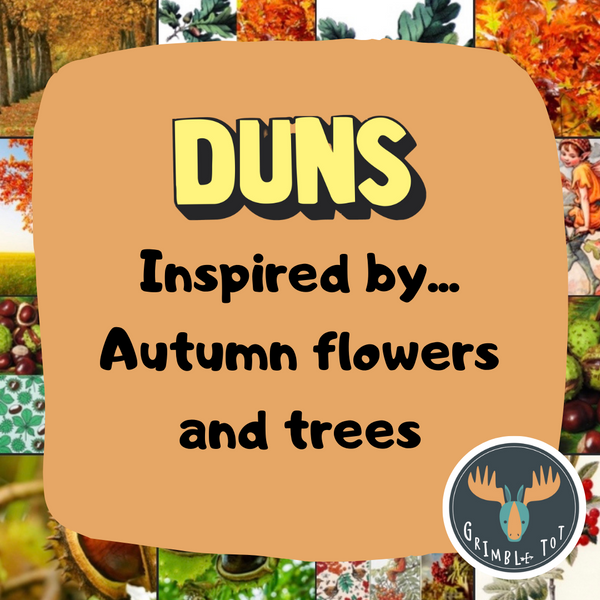 Inspired by: Autumn Flowers and Trees