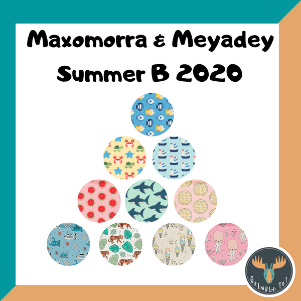 Maxomorra and Meyadey Summer 2020 - Drop B