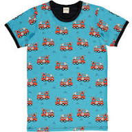 "Meyadey ""Fire Trucks"" Adult Short Sleeved Top (Men)"