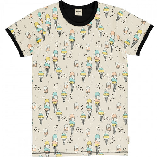 "Meyadey ""Ice Cream Confetti"" Adult Short Sleeved Top (Men)"