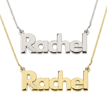 Load image into Gallery viewer, Bold Name Necklace