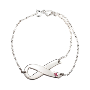 Breast Cancer Ribbon Bracelet