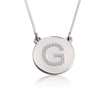 Load image into Gallery viewer, Cubic Zirconia Pendant Necklace