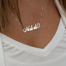 Load image into Gallery viewer, Carrie Name Necklace