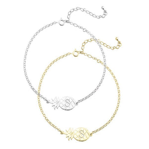 Charm Anklet with Pineapple