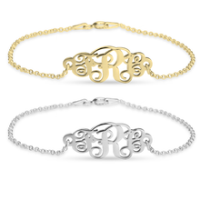 Load image into Gallery viewer, Classic Monogram Bracelet