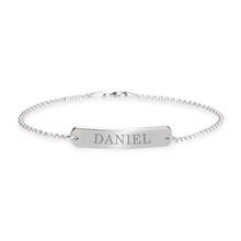Load image into Gallery viewer, Classic Name Bar Bracelet