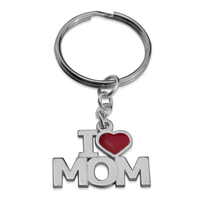 Dad and Mom Keychain