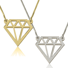Load image into Gallery viewer, Diamond Shaped Necklace