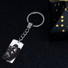 Load image into Gallery viewer, Dog Tag Picture Key Chain