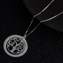 Load image into Gallery viewer, Family Tree Necklace with Birthstone