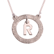 Load image into Gallery viewer, Floating Initial Necklace
