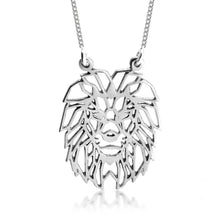 Load image into Gallery viewer, Geometric Lion Necklace