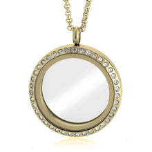 Load image into Gallery viewer, Gold Floating Locket