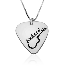 Load image into Gallery viewer, Guitar Pic Necklace