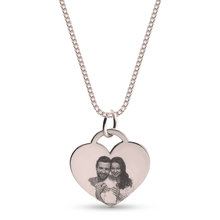 Load image into Gallery viewer, Heart Picture Necklace