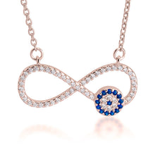 Load image into Gallery viewer, Infinity Evil Eye Necklace