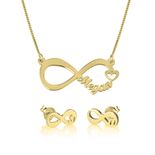 Load image into Gallery viewer, Infinity Jewelry Set
