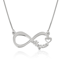 Load image into Gallery viewer, Infinity Name Necklace