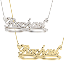 Load image into Gallery viewer, Infinity Underline Name Necklace