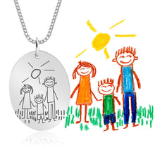 Load image into Gallery viewer, Kids Drawing Necklace