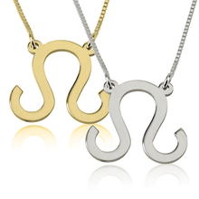 Load image into Gallery viewer, Leo Zodiac Necklace