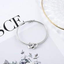 Load image into Gallery viewer, Mom Charm Bangle With Kids Names