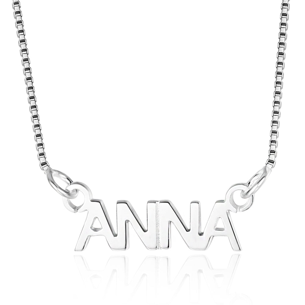 Print Name Necklace