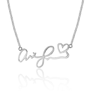 Sweet Handwritten Necklace