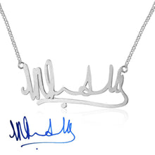 Load image into Gallery viewer, Intricate Signature Necklace