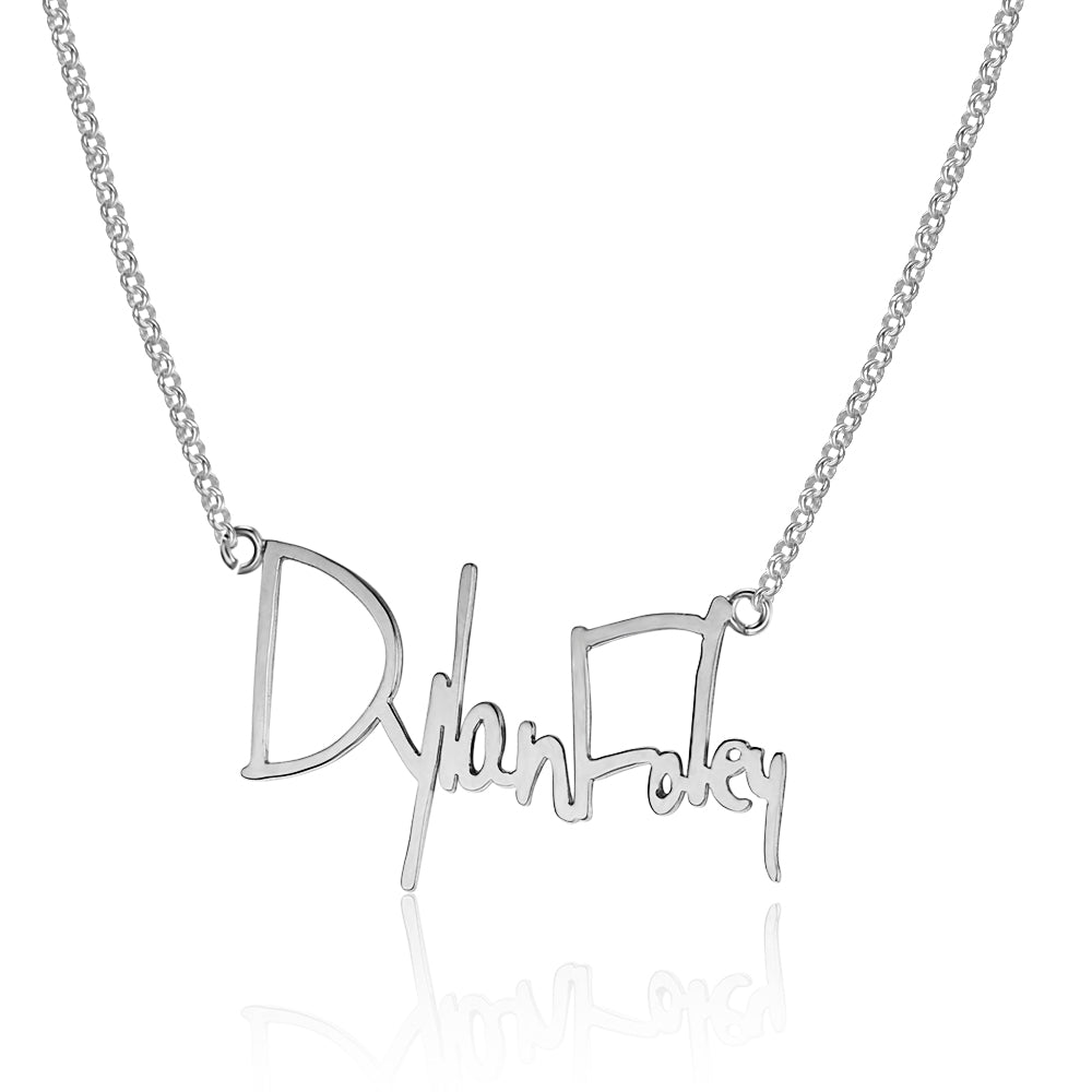 Handwritten Necklace